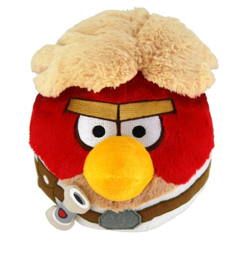 "Angry Birds 8"" Star Wars Plush - Luke Skywalker - 20cm Stofftier - aus USA"