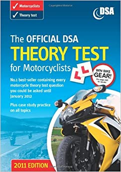 The Official DSA Theory Test for Motorcyclists Book 2011: Amazon.co.uk: Driving Standards Agency