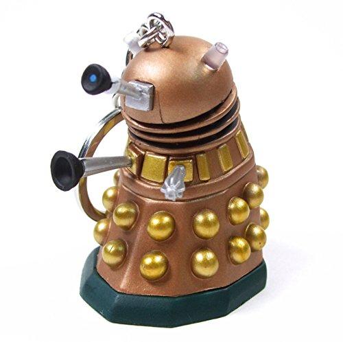 "DOCTOR WHO Time Squad Character Keychain DALEK 3"" Figure Bag Clip Hanger"