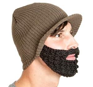 The Original Beard Beanie - Earth with Black Jeep Cap