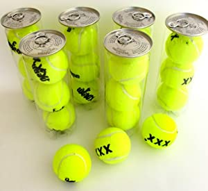 Buy 6 Cans Of XXX Tennis Balls - For A Game Of Love... Or Lust! by Penn