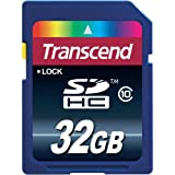 Transcend Premium 32 GB Secure Digital SD SDHC 32GB Class 10 Memory Card