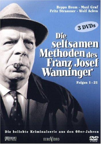 Die seltsamen Methoden des F.J. Wanninger (Folgen 1-21 s/w) [3 DVDs]