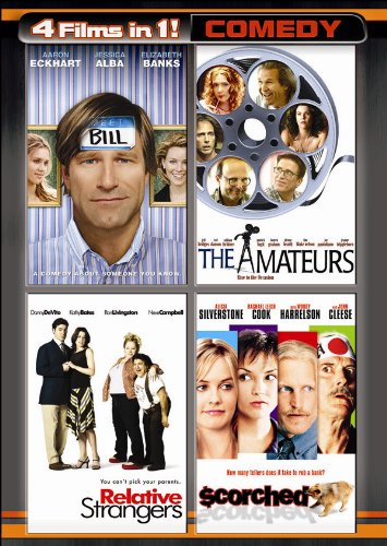 Cover art for  4 Movies in 1: Comedy (Bill / The Amateurs / Relative Strangers / Scorched) (Two-Disc Set)