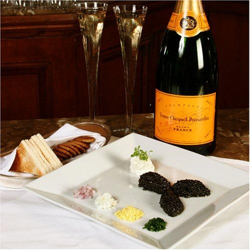 American-Caviar-Sampler-4-oz-Hackelback-Paddlefish-Black-Bowfin-Salmon-Roe-1-oz-each