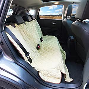 Luxury Dog Seat Cover With Side Flaps
