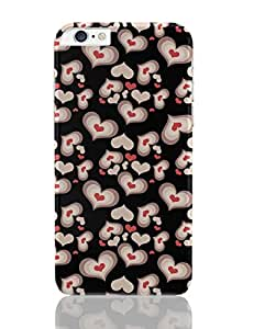 PosterGuy iPhone 6 Plus Case & Cover - Heart Beats Love, Valentines, Funny, Cute, Art, Minimal, Pattern, Heart