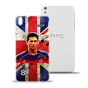 ezyPRNT Hard back case for HTC Desire 816 Frank Lampard Football Player