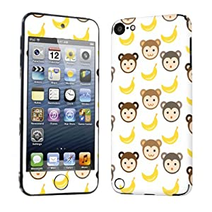 Apple iPod Touch 5 ( 5th Generation ) Decal Vinyl Skin Cute Monkey Banana- By SkinGuardz
