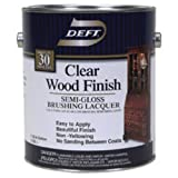 DEFT/PPG ARCHITECTURAL FIN DFT011/01 Gallon Clear Semi Gloss Wood Finish