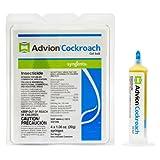 Advion Cockroach Gel Bait, 4-syringes
