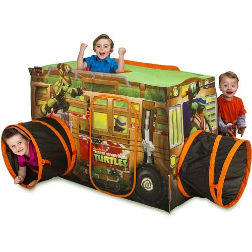 Teenage Mutant Ninja Turtles Play Hut- Play Tent - Tnmt Shell Raiser Vehicle