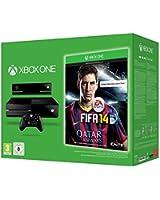 Console Xbox One noire + Fifa 14