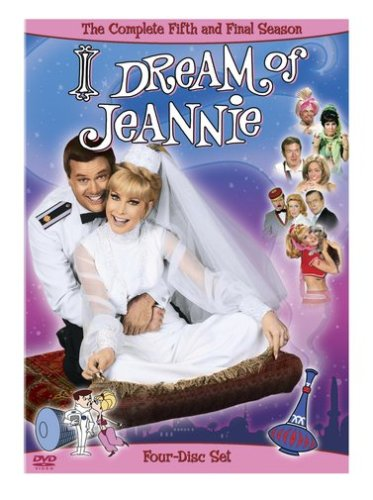Cover art for  I Dream of Jeannie - The Complete Fifth Season
