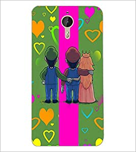 PrintDhaba Betrayed Love D-2476 Back Case Cover for LETV (LE ECO) LE 1 PRO (Multi-Coloured)