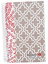 2014-15 Academic Year bloom Daily Day Planner Fashion Organizer Agenda August 2014 Through July 2015 Floral Quatrefoil