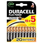 Duracell Plus Power AAA Batteries - 1...