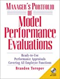 Manager's Portfolio of Model Performance Evaluations with CDROM (0130910309) by Toropov, Brandon
