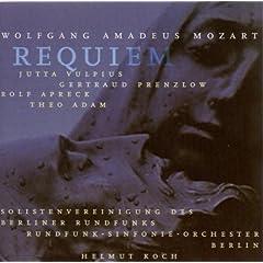 Wolfgang Amadeus Mozart: Requiem (Vulpius, Prenzlow, Apreck, Adam, Berlin Radio Symphony, Koch)