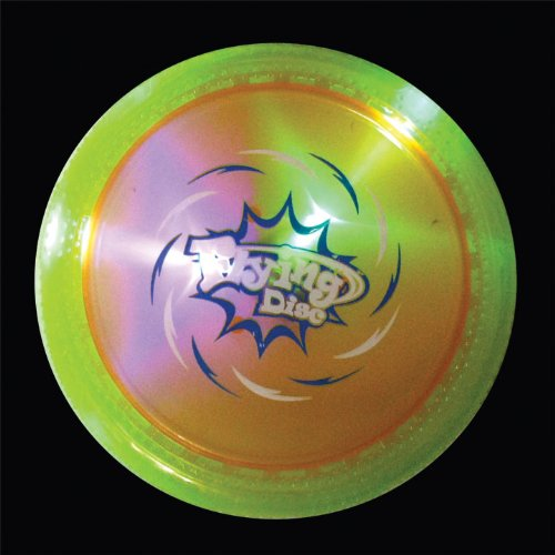 Sporting Toys Flashing Top Flying Disc - 7 Inches (Batteries Included)