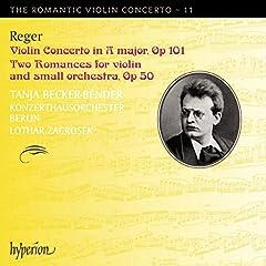 Violin Concerto in a Major Two Romances-the Romant