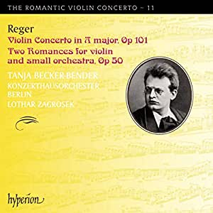 Violin Concerto in a Major Two Romances-the Romant