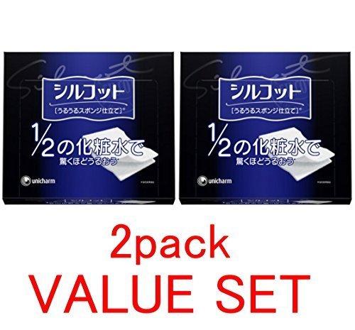 unicharm-silcot-uruuru-sponge-facial-cotton-18-ounce40-sheets-x-value-set-by-unknown