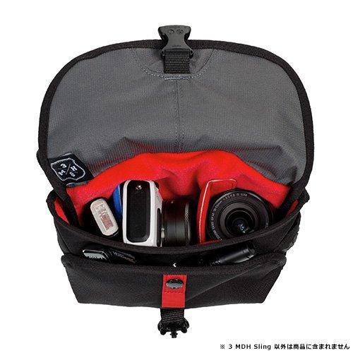 CRUMPLER ショルダーバッグ 3ミリオンダラー・ホーム・スリング 2L ブラック MS3001-B00P30