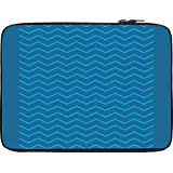 Snoogg Wave Minimalistic 2903 12 To 12.6 Inch Laptop Netbook Notebook Slipcase Sleeve