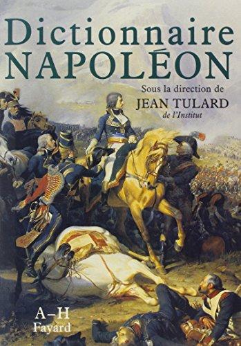 coffret dictionnaire napoleon 2 vol.