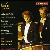 Safri Duo Performs Lutoslawski, Bartók, Helweg