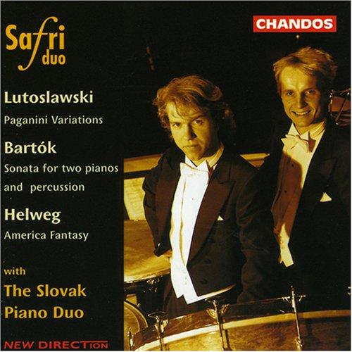 Safri Duo - Safri Duo Performs Lutoslawski, Bartók, Helweg - Zortam Music