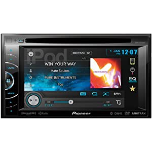Pioneer Avh-x3500bhs 2-din Multimedia Dvd Receiver With 6.1 Wvga