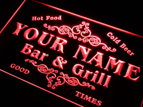 u-tm Name Personalized Custom Family Bar & Grill Beer Home Gift Neon Sign (Neon Signs Custom compare prices)