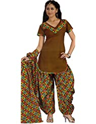 Rajnandini Women's Cotton Dress Material (Multi_Free Size)