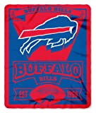Buffalo Bills 50x60 Marque Design Fleece Blanket at Amazon.com