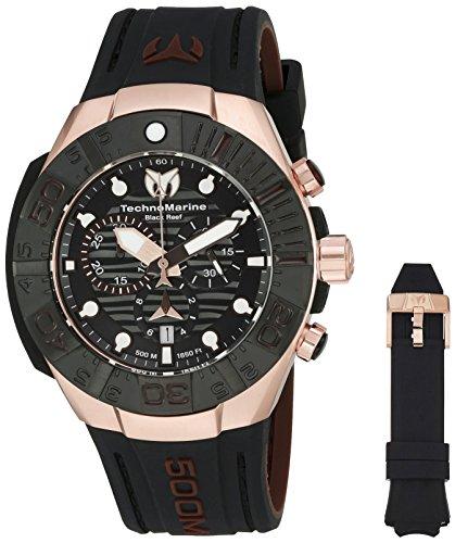 technomarine-mens-black-reef-swiss-quartz-stainless-steel-casual-watch-model-tm-515019