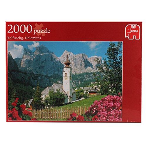 Jumbo 17039 - Kolfuschg, Dolomiten Puzzle, 2000