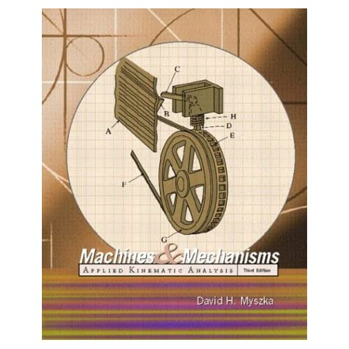 Book Cover: [request_ebook] Machines and Mechanisms: Applied Kinematic Analysis