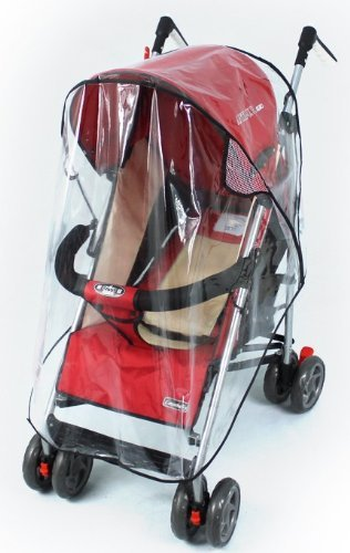 Universal Wind Shield Clear Waterproof Rain Cover Fit Most Strollers Pushchairs - 1