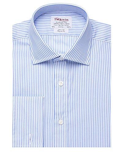 t-lewin-m-chemise-pour-homme-coupe-regular-fit-avec-bandes-bleu-du-bengale