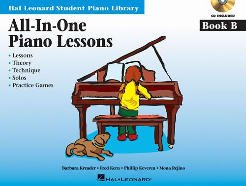 All-In-One Piano Lessons Book B: International Edition (Book & CD)