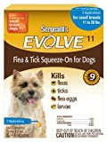 Sergeant's Evolve 11 Flea and Tick Squeeze-On, Dog, 11 to 20-Pound