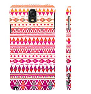 Samsung Galaxy Note 3 CHIC AZTEC designer mobile hard shell case by Enthopia