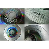 Ridata Magic Silver 16X Logo Top Blank DVD-R 4.7GB