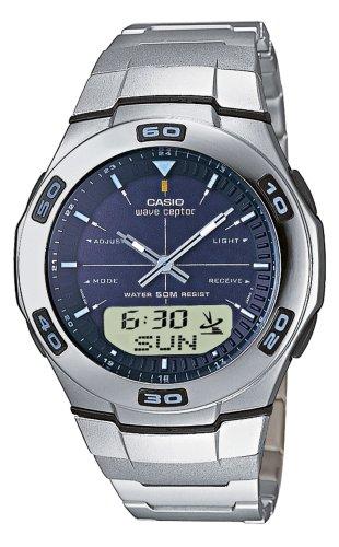 Funkuhren Herren-Armbanduhr Digital Quarzuhrwerk 2758 WVA-105HDE-2AVER
