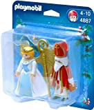 Playmobil - 4887 - Jeu de construction - Saint Nicolas et Ange