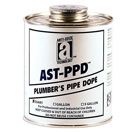 AST-PPD 25126 Plumbers Pipe Dope, Professional Grade, 1 quart, Tan (Plumbers Pipe Dope compare prices)