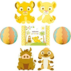 lion king baby shower room decorating kit party lion king baby shower