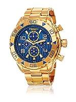 Akribos XXIV Reloj de cuarzo Man AK814YGBU 52 mm